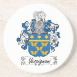 Escudo de la familia de Vespignani Posavasos Manualidades