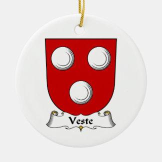 Escudo de la familia de Veste Ornamente De Reyes