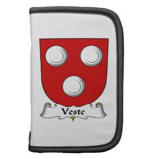 Escudo de la familia de Veste Organizador
