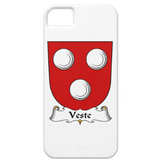 Escudo de la familia de Veste iPhone 5 Cárcasa