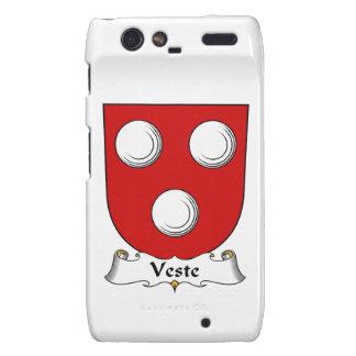 Escudo de la familia de Veste Droid RAZR Funda