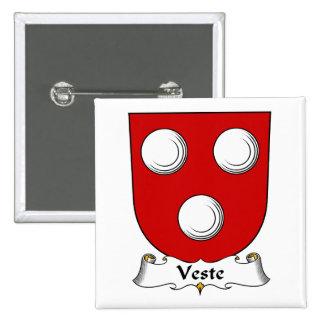 Escudo de la familia de Veste Pin