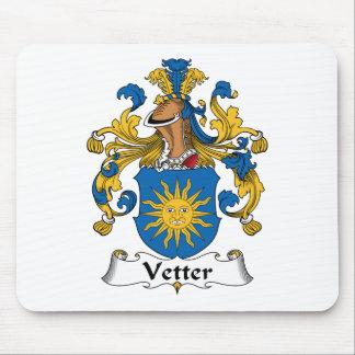 Escudo de la familia de Vetter Alfombrillas De Ratón
