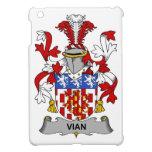 Escudo de la familia de Vian iPad Mini Coberturas