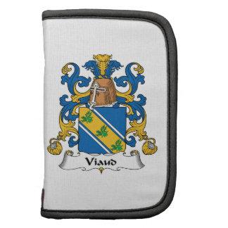 Escudo de la familia de Viaud Organizador