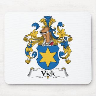Escudo de la familia de Vick Tapete De Ratón