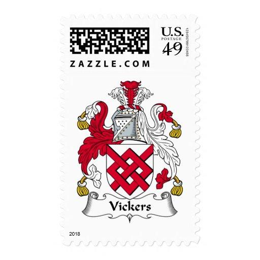 Escudo de la familia de Vickers Sellos