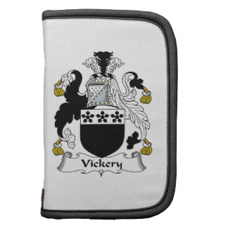 Escudo de la familia de Vickery Planificadores