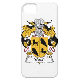 Escudo de la familia de Vidal iPhone 5 Carcasas