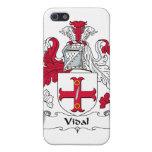Escudo de la familia de Vidal iPhone 5 Cárcasa