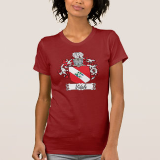 Escudo de la familia de Vidale Camiseta