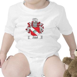 Escudo de la familia de Vidale Trajes De Bebé