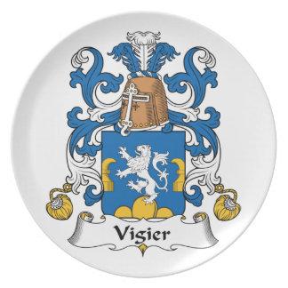 Escudo de la familia de Vigier Plato