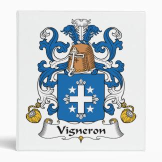 Escudo de la familia de Vigneron