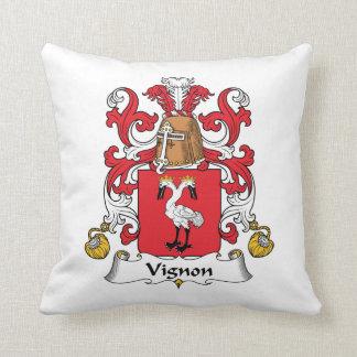 Escudo de la familia de Vignon Almohada