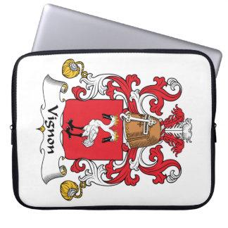 Escudo de la familia de Vignon Funda Portátil