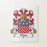 Escudo de la familia de Vilain Puzzle