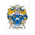 Escudo de la familia de Vilarinho Postal