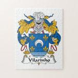 Escudo de la familia de Vilarinho Puzzles Con Fotos