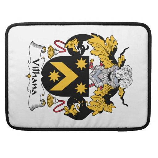 Escudo de la familia de Vilhana Fundas Macbook Pro