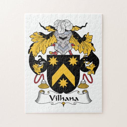 Escudo de la familia de Vilhana Puzzle