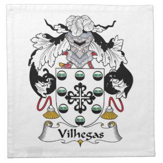 Escudo de la familia de Vilhegas Servilleta