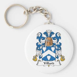 Escudo de la familia de Villard Llaveros