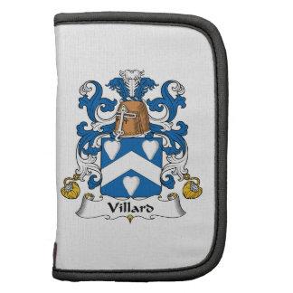 Escudo de la familia de Villard Organizadores