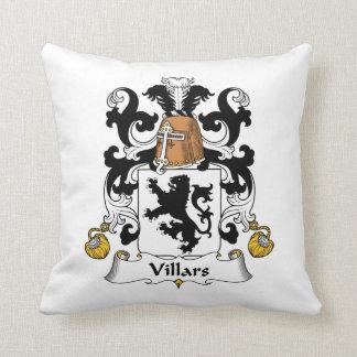 Escudo de la familia de Villars Almohadas