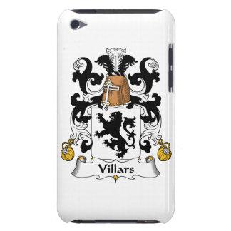 Escudo de la familia de Villars Barely There iPod Fundas