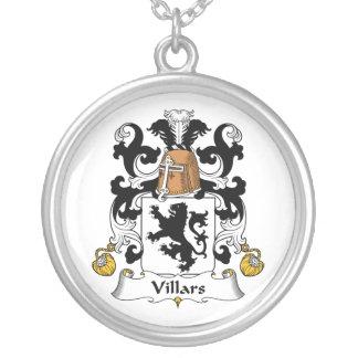Escudo de la familia de Villars Colgante Redondo