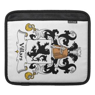 Escudo de la familia de Villars Funda Para iPads