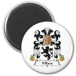Escudo de la familia de Villars Imán Redondo 5 Cm