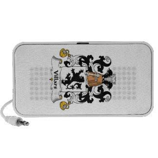 Escudo de la familia de Villars iPod Altavoz