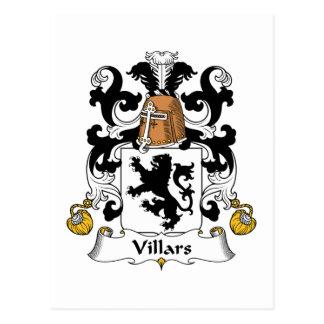 Escudo de la familia de Villars Postal