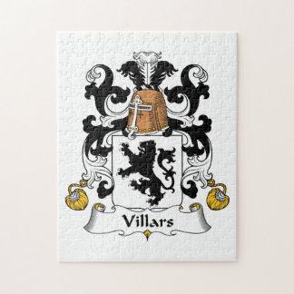 Escudo de la familia de Villars Puzzle