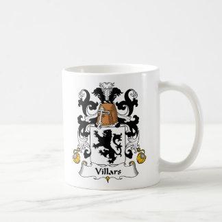Escudo de la familia de Villars Taza Clásica