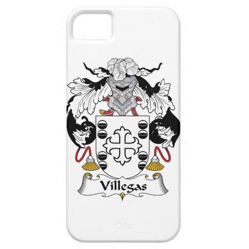 Escudo de la familia de Villegas iPhone 5 Case-Mate Carcasa