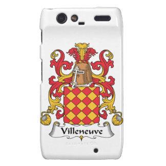 Escudo de la familia de Villeneuve Droid RAZR Funda