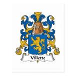 Escudo de la familia de Villette Postal