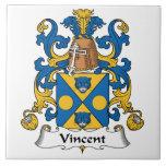 Escudo de la familia de Vincent Azulejo