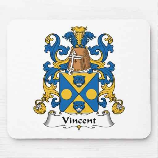 Escudo de la familia de Vincent Alfombrilla De Raton