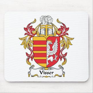 Escudo de la familia de Visser Tapete De Ratones
