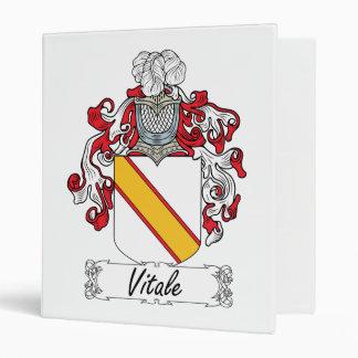 Escudo de la familia de Vitale
