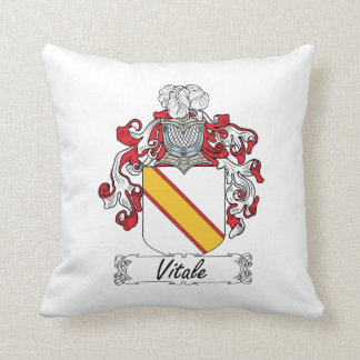 Escudo de la familia de Vitale Almohadas