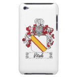 Escudo de la familia de Vitale iPod Touch Case-Mate Cárcasa