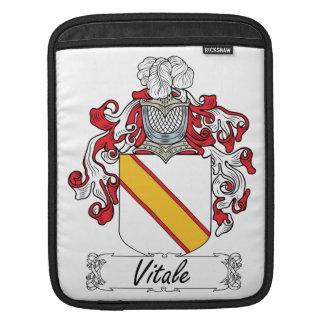 Escudo de la familia de Vitale Mangas De iPad