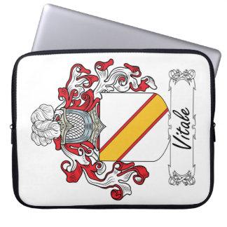 Escudo de la familia de Vitale Manga Computadora