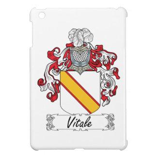 Escudo de la familia de Vitale iPad Mini Carcasa