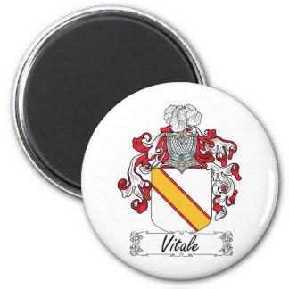 Escudo de la familia de Vitale Imanes